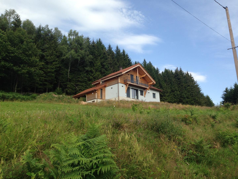 Maison Ossature Bois Vosges constructeur maison bois vosges, gérardmer, la bresse